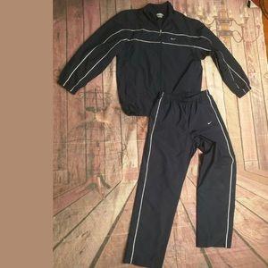 Vintage Nike Track Suit Pants And Jacket
